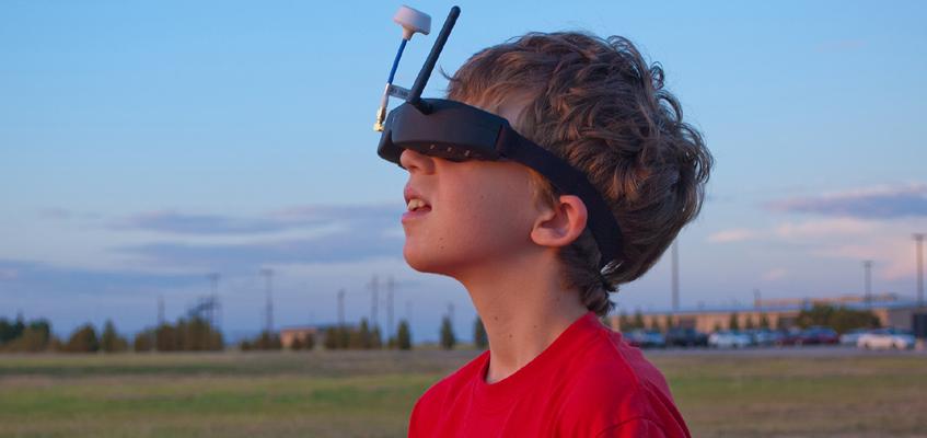 FPV для детей: есть ли вред для глаз?