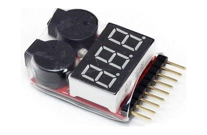 Устройство контроля уровня заряда аккумулятора (2S-6S)