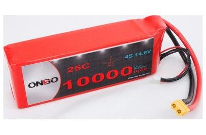 Аккумулятор ONBO 10000mAh 4S 25C Lipo Pack
