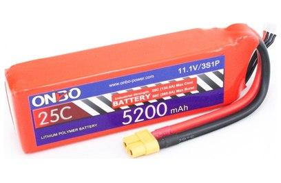 Аккумулятор ONBO 5200mAh 3S 25C Lipo Pack