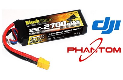Аккумулятор Black Magic 2700mAh 3S 25C для Phantom