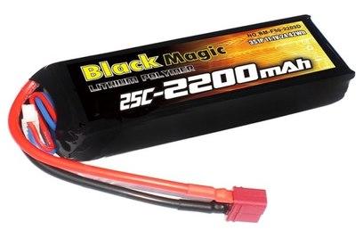 Аккумулятор Black Magic 2200mAh 3S 25C LiPo