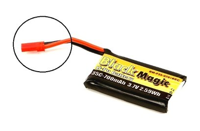 Аккумулятор Black Magic LiPo 3.7V 700mAh