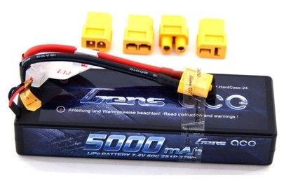 Аккумулятор Li-Po 7.4В 5000мАч 50C Hobby (2S, универсальный разъем)