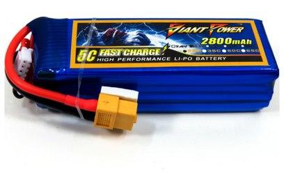 Аккумулятор Giant Power LiPo 2800mAh 11.1V 25C XT60 (для DJI Phantom)