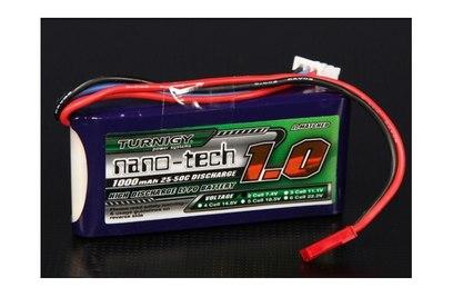 Аккумулятор Turnigy Nano-Tech 1000mAh 2S 25-40C LiPo