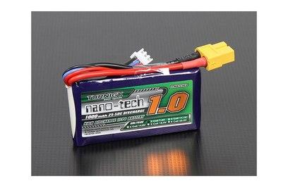 Аккумулятор Turnigy Nano-Tech 1000mAh 3S 25-50C LiPo