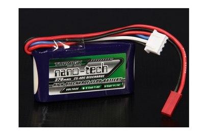 Аккумулятор Turnigy Nano-Tech 370mAh 3S 25-40C LiPo