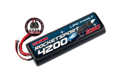 Аккумулятор Team Orion Rocket Sport LiPo 7.4V 2S 25C 4200 mAh