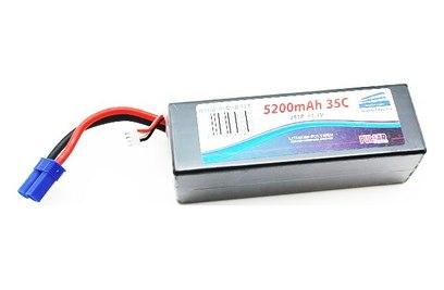 Аккумулятор Pulsar Li-pol 11.1V 5200mAh, 35C, 3s1p, EC5