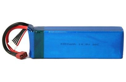 Аккумулятор RICCS LiPo 14.8V 4S 20C 3300 mAh