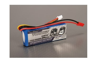 Аккумулятор Turnigy 800mAh 2S 20C Long LiPo