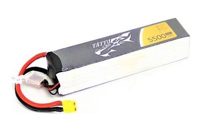 TATTU Li-pol 22.2V 5500mAh, 25C, 6s1p, XT60 - TA-25C-5500-6S1P