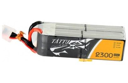 Аккумулятор Li-Po 14.8В 2200мАч 45C (4S1P, EC3, XT60, Deans)
