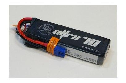 Аккумулятор Dualsky ULTRA 2700mAh 3S1P 11.1V