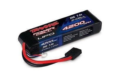 Аккумулятор Traxxas LiPo 7.4V 2S 25C 4200 mAh