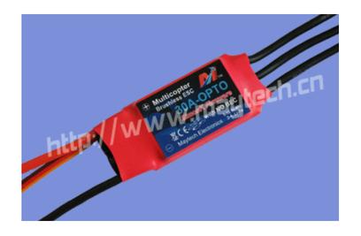 30A Brushless ESC MK (Simon K firmware) - MT30A-OPTO-HS-MK