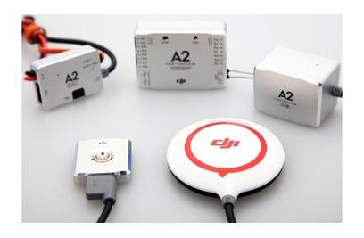 Система управления мультикоптером DJI А2