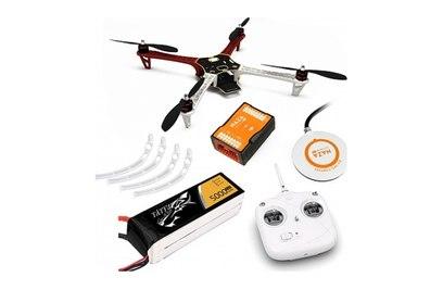 DJI F450 (E305) ARF kit + Naza M V2 + GPS + Landing skid + DT7 + аккум. 5000 mah