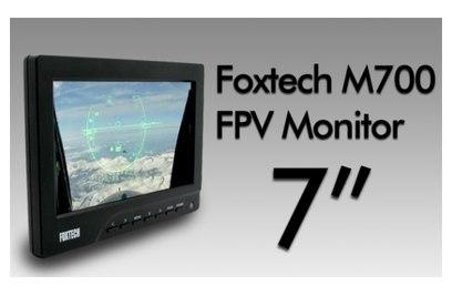 """Монитор 7"""" для FPV-полетов Foxtech"""