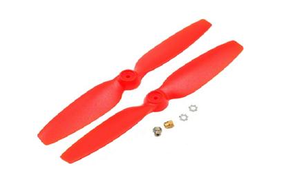 Пропеллеры красные CW + CCW: 200 QX - BLH7708