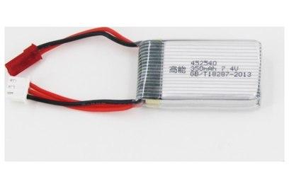Аккумулятор 7.4V 350 mAh для квадрокоптера MJX X401H