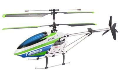 Радиоуправляемый вертолет MJX T55 c FPV камерой (зеленый)