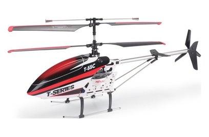 Радиоуправляемый вертолет MJX T55 c FPV камерой (красный)