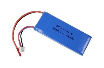 Аккумулятор Li-Po 7.4V 1600mAh WLToys V323