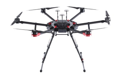 DJI MATRICE 600 PRO полетная платформа