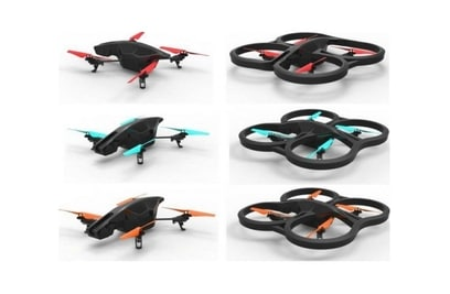 Parrot Ar.drone 2.0 Power Edition iOS и Android Control квадрокоптер