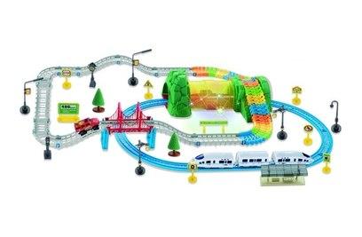 Автотрек + железная дорога Huan Nuo 3631Y