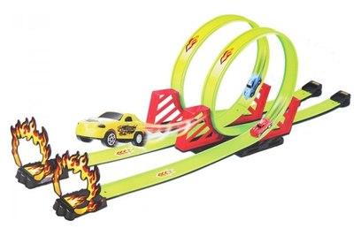 Детский пусковой трек Track Racing длина трека 550 см - 68816