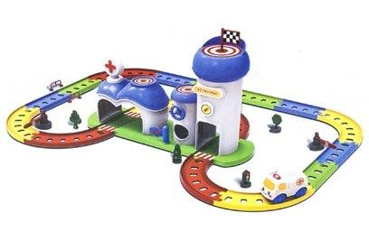 Детский игровой набор автотрек-конструктор Твой старт - Больница - ZYA-A1547-1
