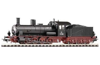 Железная дорога Стартовый набор *Паровоз с пассажирским составом* - 57121