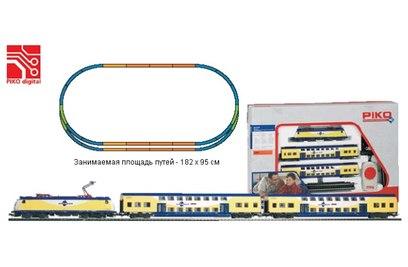 """Стартовый набор железной дороги Piko """"Пассажирский экспресс METRONOM"""""""
