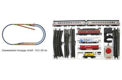 Стартовый набор модельной железной дороги Piko 2в1 *Грузовой и пассажирский составы* - 96912