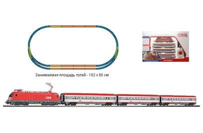 Стартовый набор модельной железной дороги Piko *Пассажирский состав OBB*