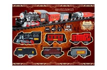 Железная дорога со звуком и огнями - TTR-0020-01