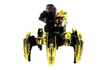Р/у боевой робот-паук KTS Warrior (диски, золотой)