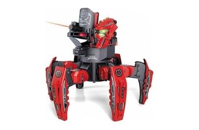 Р/у боевой робот-паук KTS Warrior (диски, красный)