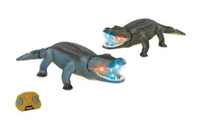 Радиоуправляемый крокодил Lishi Toys 9985