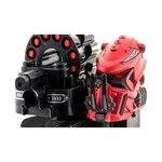 Р/у боевой робот-паук KTS Warrior (ракеты, красный)