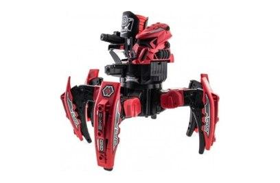 Робот-паук Space Warrior с дисками и лазерным прицелом