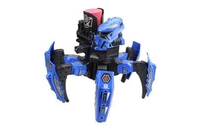 Робот-паук Space Warrior с пульками, дисками и лазерным прицелом