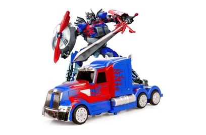Радиоуправляемый трансформер MZ Optimus Prime 1:14