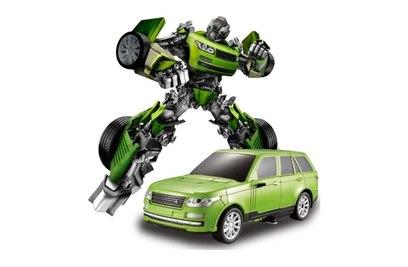 Радиоуправляемый робот-трансформер JQ Troopers Tyrant TT651A