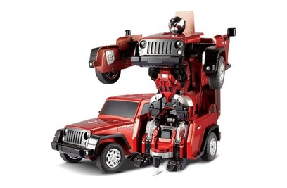 Р/у робот-трансформер JQ Troopers Crazy TT665