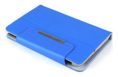 Универсальный чехол для планшетов 7 голубой - CET-0010-04