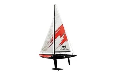 Яхта Thunder Tiger Naulantia (красный)